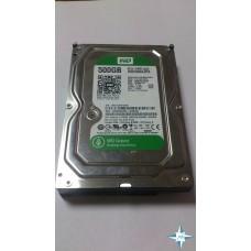 """HDD 3.5"""" SATA-III, 500 Gb, Western Digital Green, WD5000AZRX"""